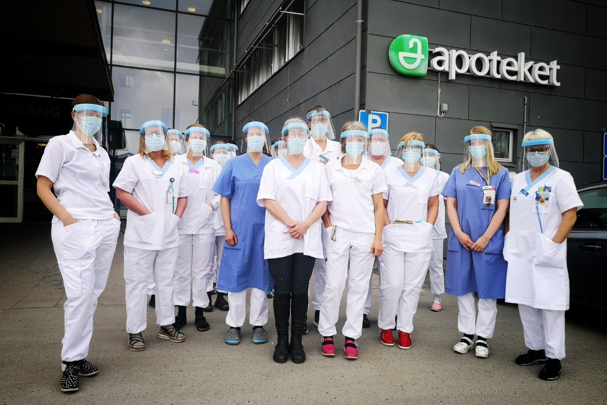Region Norrbotten slutar vaccinera sjukvårdspersonalen
