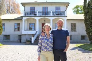 Paret lämnade Stockholm för ett nytt liv på Grå Gåsen