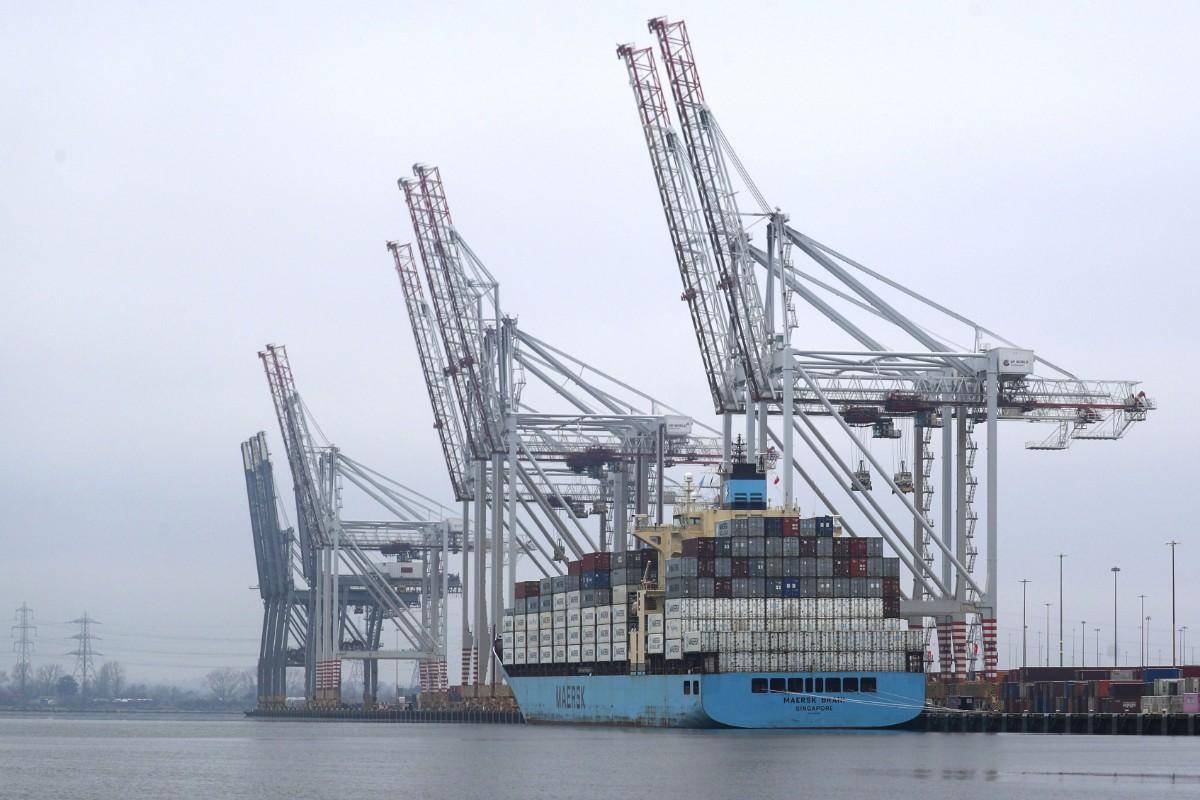 Halverad EU-import från Storbritannien
