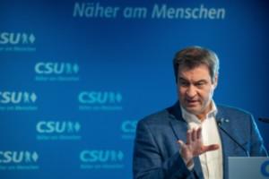 Söder vill bli kanslerkandidat med CDU:s stöd