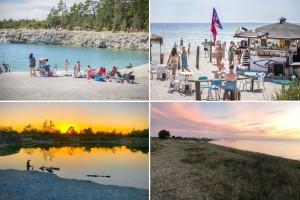 Sju tips: Stränder, kalkbrott och badplatser på Gotland