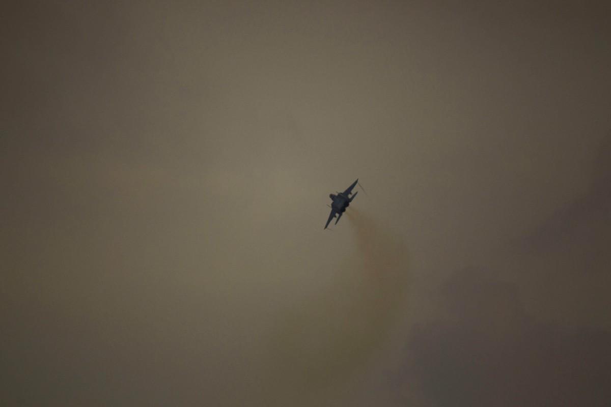 Vapenvilan i Gaza bruten – bränder och luftangrepp