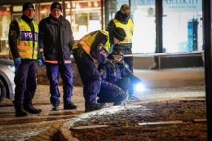 Polisen visade styrka och kompetens i Vetlanda