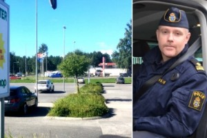 Bilen rullade 20 centimeter: Han åtalas för rattfylleri
