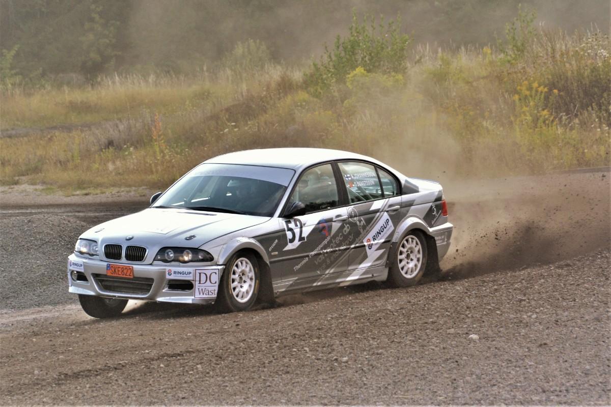 Hårt kontrollerad rallysprint körs på fredag