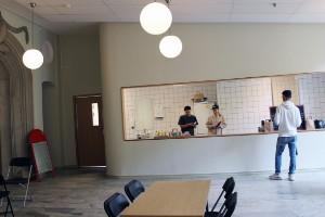 Efter stora renoveringen: Huset redo för nytt café