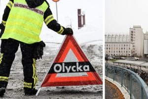 """Kvinna död efter trafikolycka i Umeå: """"Oerhört tragisk utgång"""""""