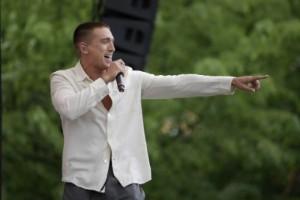 Tiktok-parodi tävlar mot Danny i Melodifestivalen