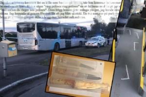 """Vittne till mordet flydde genom bussfönstret: """"Blev så rädd"""""""