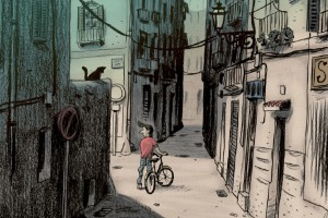 Drabbande serieroman om mycket tuff uppväxt