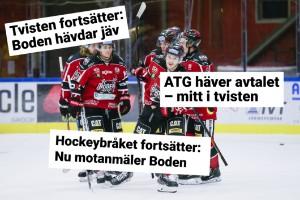 """Boden Hockey: """"Hockeyettan har hotat med uteslutning"""""""