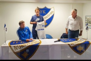 Klart: Hallenius är officiellt presenterad av IFK
