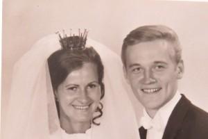 Christina och Rolf Morin, guldbröllop