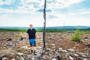 """Det brinner i skogarna i länet: """"Det är obehagligt"""""""