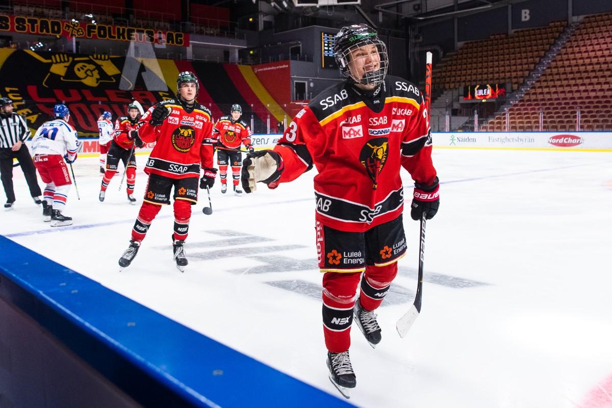 Lysell lämnade Luleå – nu nedskickad till juniorliga