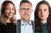 Anela Murguz, Borås Tidning, NSD:s Olov Abrahamsson och  VLT:s Matilda Molander diskuterade det politiska läget i P1.