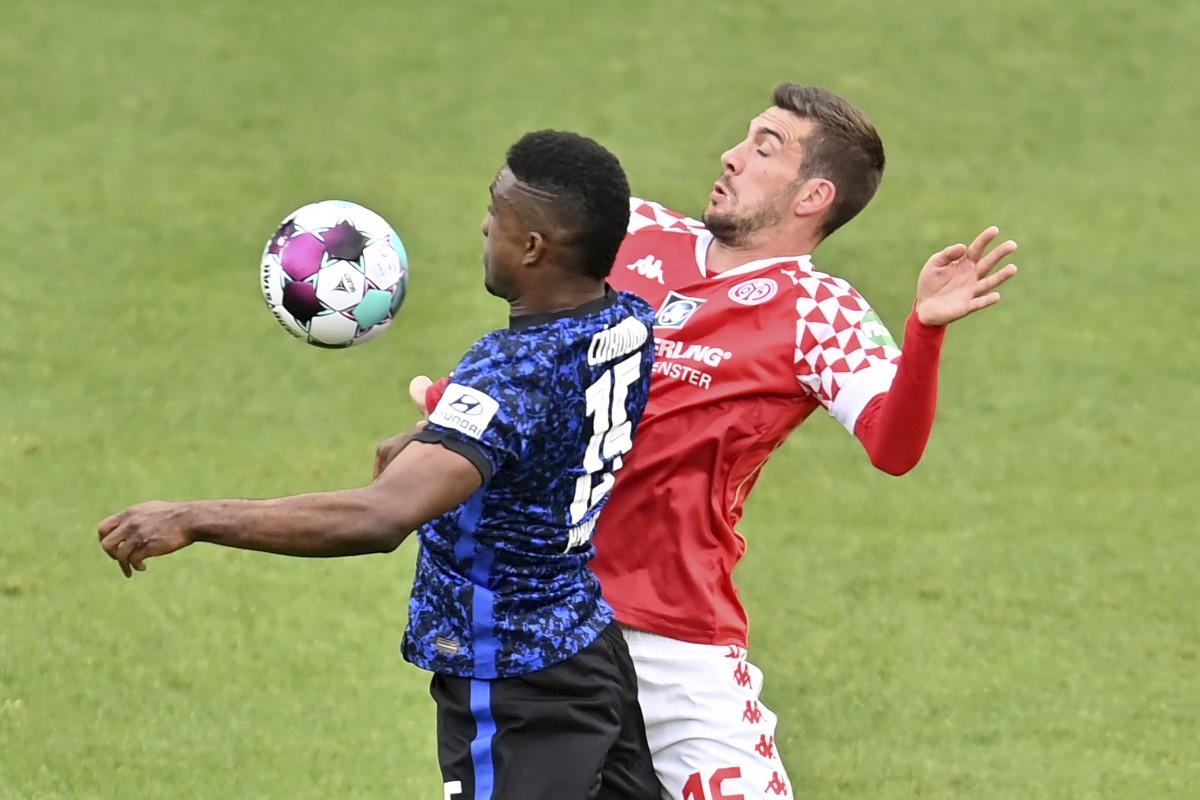 Quaisons Mainz fick bara oavgjort