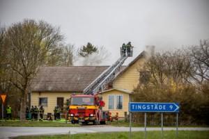 TV+TEXT: Villabrand i Martebo –mycket rök i byggnaden