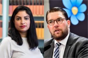 Dadgostar och Åkesson närmar sig varsin regering
