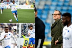 Beskedet inför Häcken: Osäkra IFK-trion inte avskriven