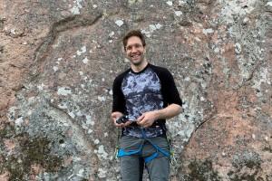 Nya utmaningar för bergsklättrare i Björsäterskogarna