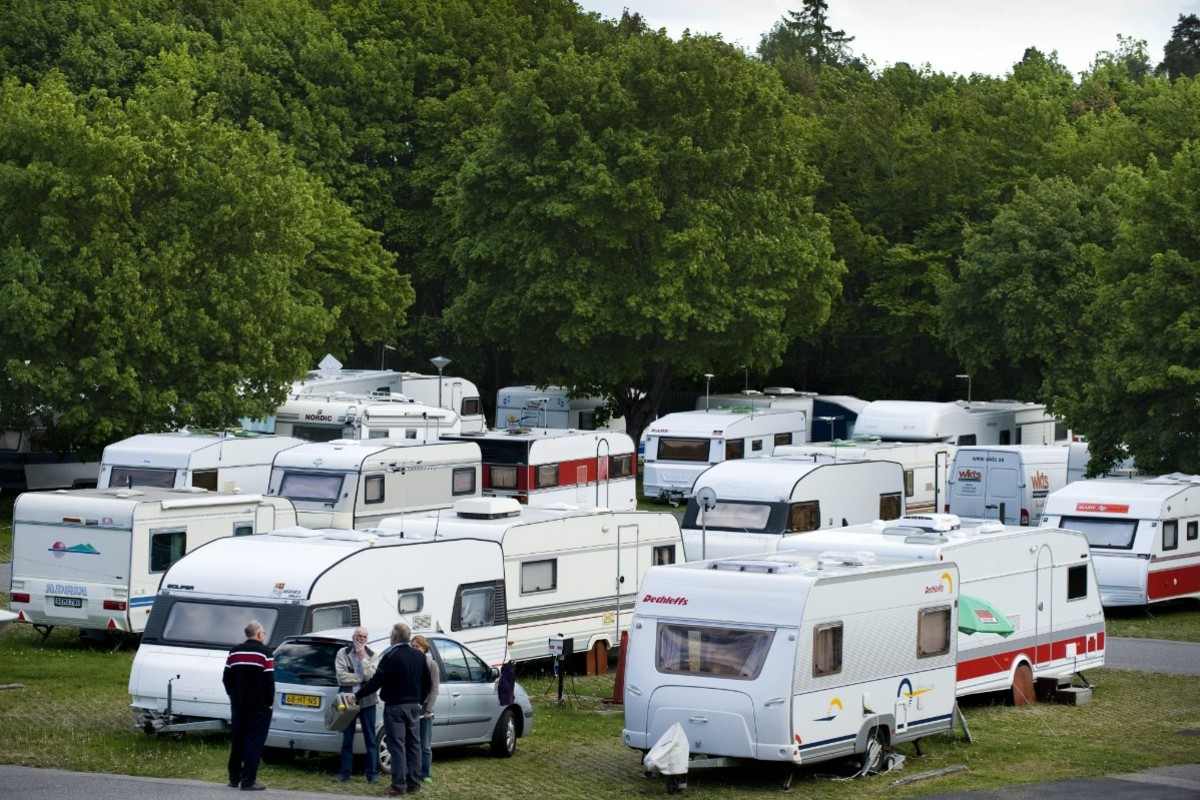 Högt tryck på svenska campingar i sommar