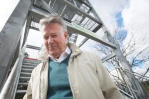 """Kungstornet lämnas över till kommunen – Rolf Wallinder: """"Vemod och lättnad"""""""