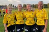 Eriksson gjorde tre mål när Kaif vann stort