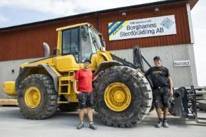 Borghamn miljöpåverkar Sveriges stenindustri