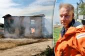 Fullt utvecklad brand i ladugård på södra Gotland
