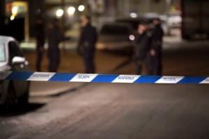 Bil beskjuten i Landskrona