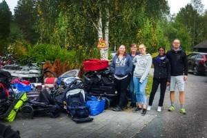 Uppsalavolontärer skickar över 100 barnvagnar till Grekland