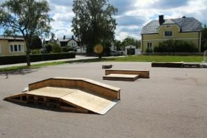 Inga böter för skateboardramp utan bygglov • Väntar fortfarande på träningsmöjligheter