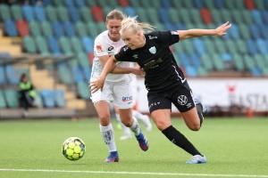 Blackstenius gjorde sitt första mål i Göteborg