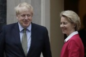 Brexitsamtal pausas – ledare i samtal