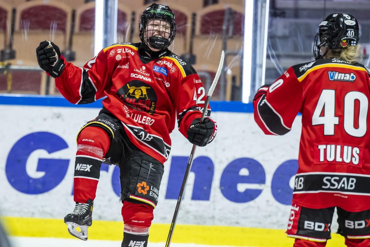 Full pott för Luleå Hockey/MSSK – tonåringar avgjorde