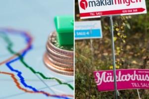 Nu stiger villapriserna i länet – trots coronakrisen