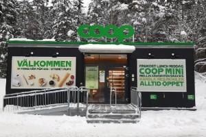 Coop öppnar obemannad butik