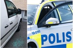 """Polisen om inbrottsvågen: Därför slår tjuvarna till mot företagsbilar – """"Tar betalt via Swish"""""""