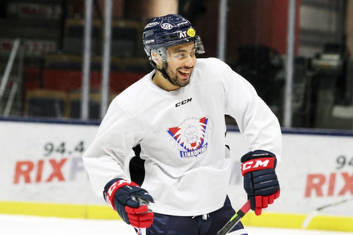 """Jagar NHL-plats – hyllar Linköping: """"Förändrade mitt liv"""""""
