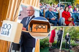 Kungabesök, uppträdanden och sol – Se Luleås jubileumsfest i efterhand