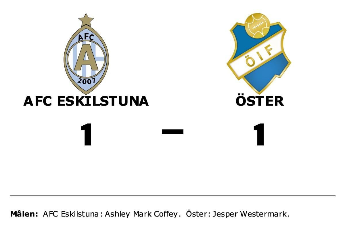 AFC Eskilstuna och Öster kryssade efter svängig match