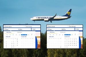 Ryanair slutar flyga från Skavsta i höst – öppnar ny bas på Arlanda