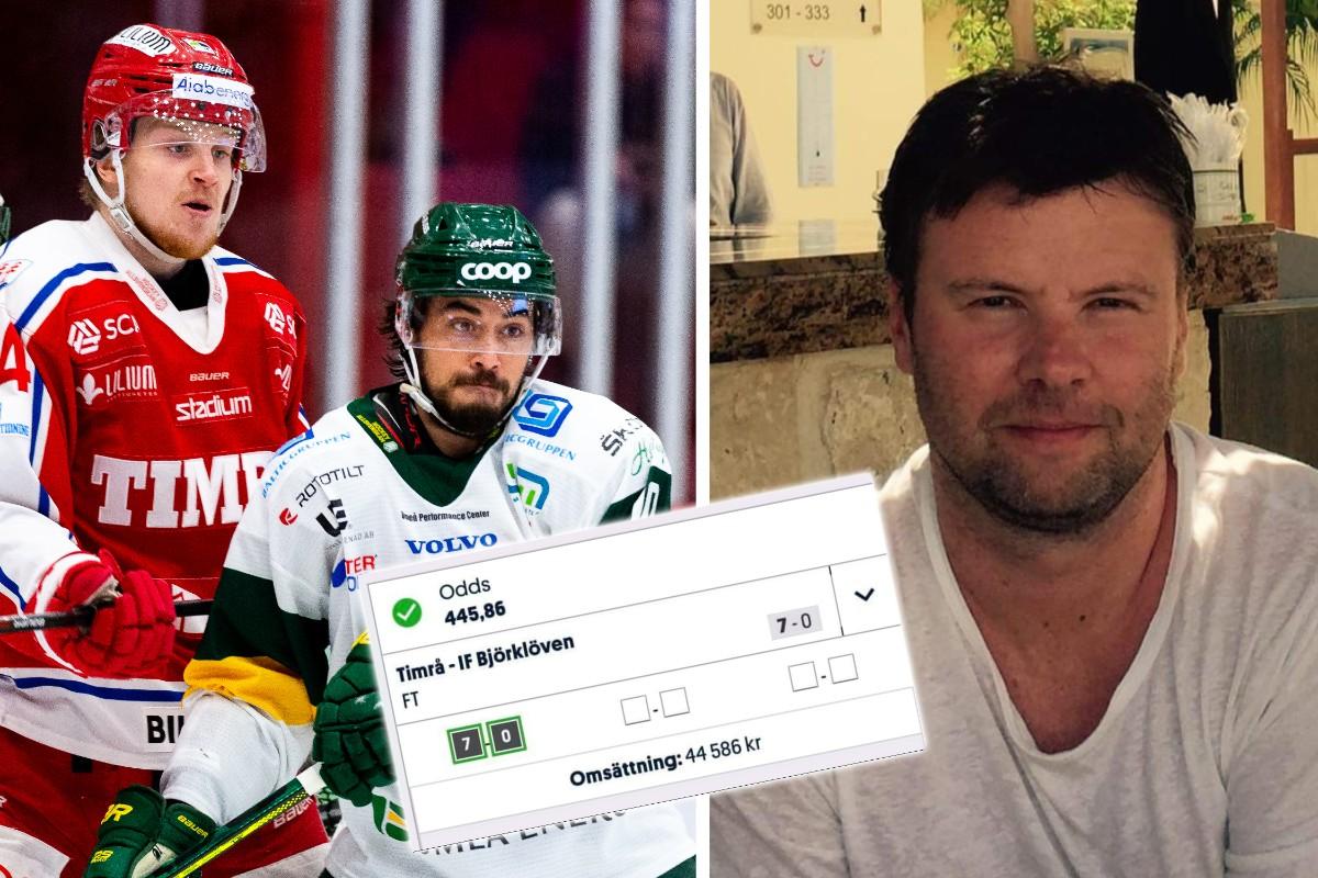 Vann tusentals kronor efter osannolik Björklövenmatch