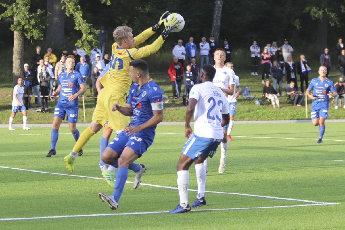 VCF stod upp bra mot allsvenska IFK i cupen