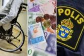 Polisen utreder assistanshärva i Uppsala på 9 miljoner