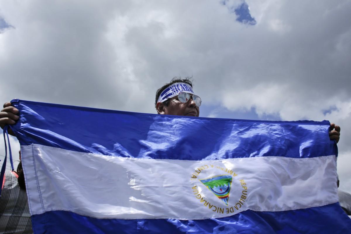 Nicaraguastyre försvarar gripanden