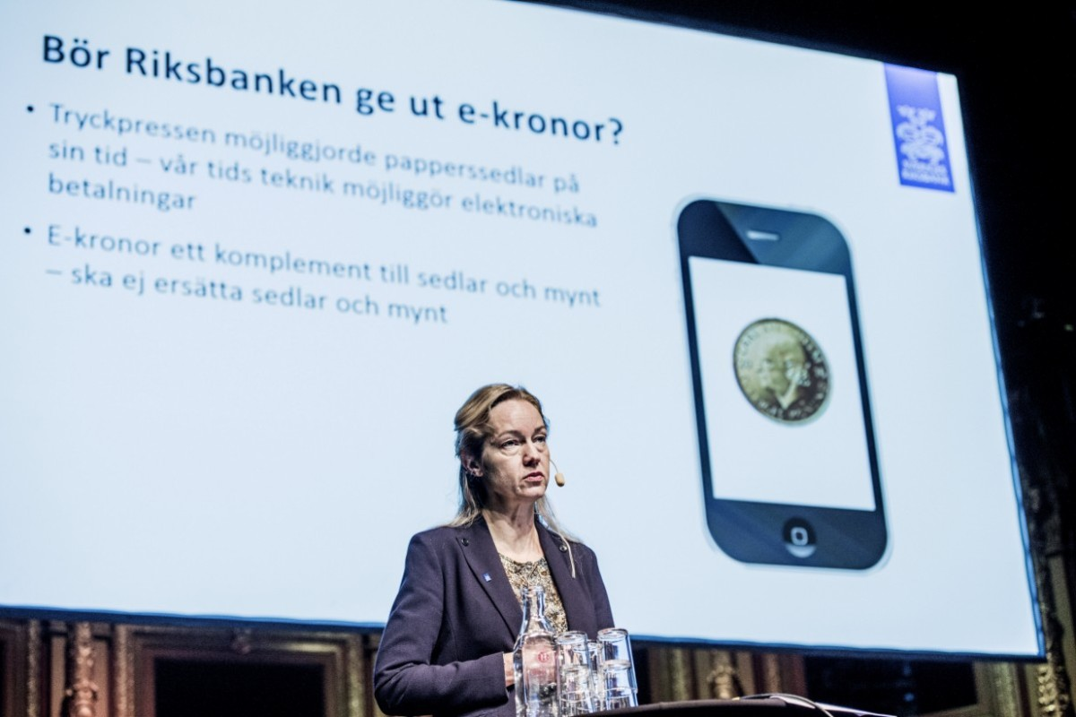 Riksbanken har testat sin e-krona