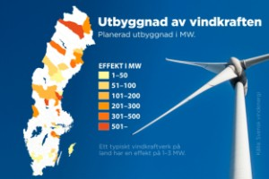Trots elkrisen – tvärnit för ny vindkraft