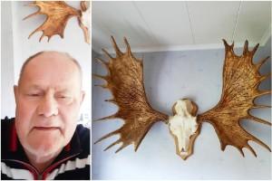 """Hittade var sitt horn från mäktiga älgen – båda vägrade sälja in i döden • """"Försökt köpa av varandra i 30 år"""""""